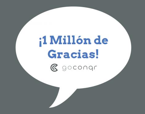 1 millón de usuarios - GoConqr