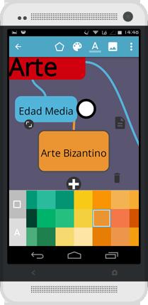 App Creación Mapas Mentales