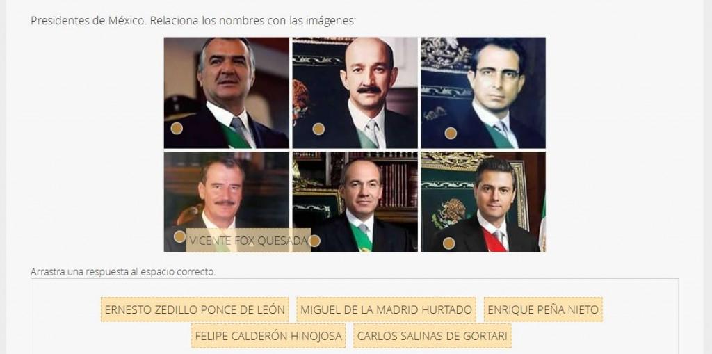 Imágenes con Preguntas - Presidentes