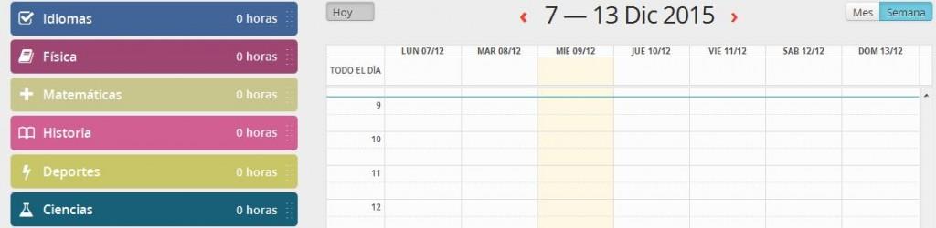 Funciones Educativas - Calendario