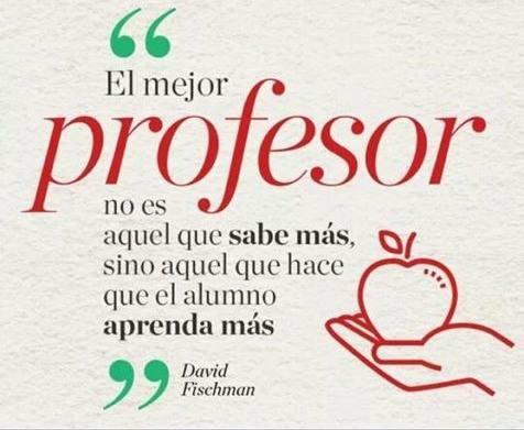 El mejor profesor