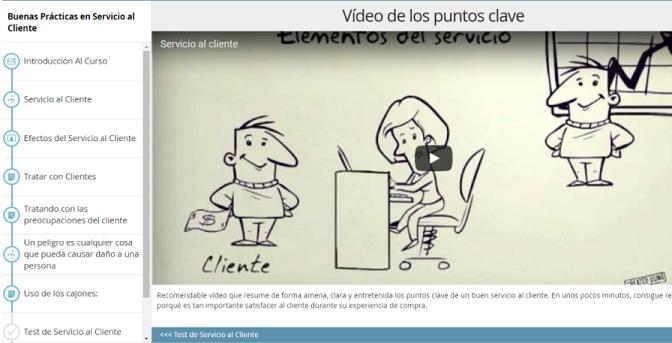 video capacitacion en una organizacion